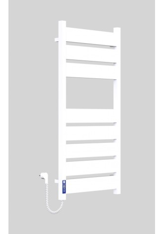 Братислава 1000х500х8 (3+5) программатор L белый (гляне..