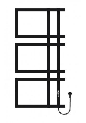 Enza 1000х500х3 чорний (структура,мат)-RAL-9005 R элект..