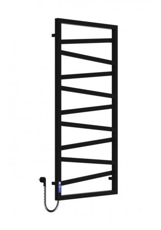 LEGATO 1200Х600Х9 черный (структура,мат)-RAL-9005 L эле..