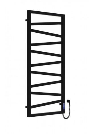 LEGATO 1200Х600Х9 черный (структура,мат)-RAL-9005 R эле..