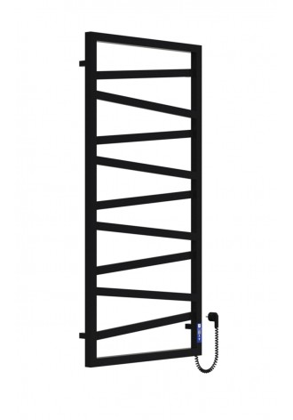 LEGATO 1200Х600Х9 черный (структура,мат)-RAL-9005 прогр..