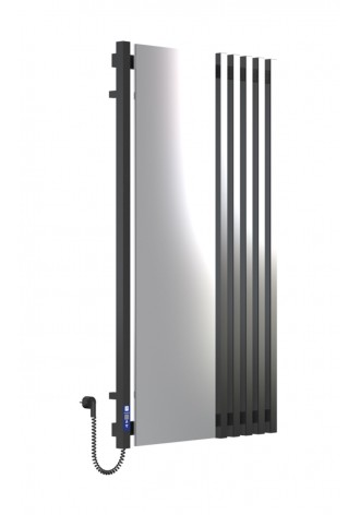 MARCIALE 1200х700х6 черный (глянец)-RAL-9005 программат..