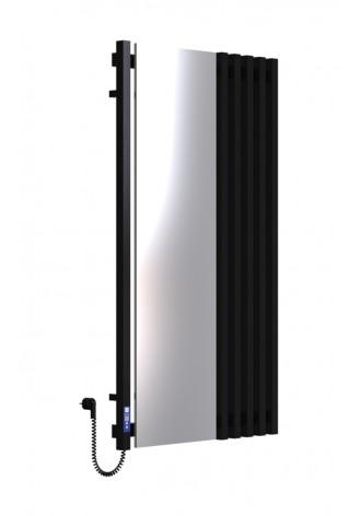 MARCIALE 1200х700х6 черный (структура,мат)-RAL-9005 L э..