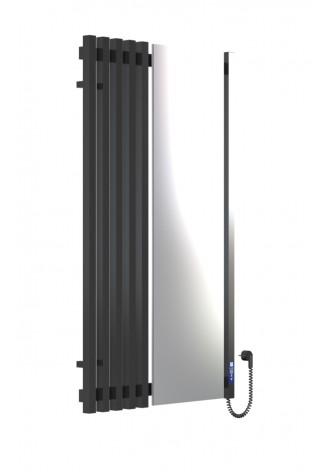 MARCIALE 1200х700х6 чорний (глянец)-RAL-9005 R електро ..