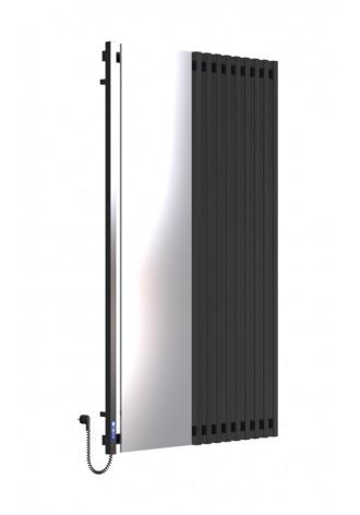 MARCIALE 1600х1000х10 чорний (глянец)-RAL-9005 L електр..