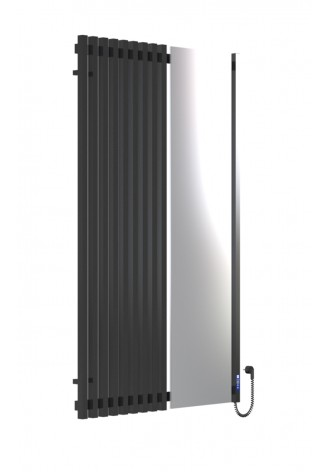 MARCIALE 1600х1000х10 чорний (глянец)-RAL-9005 R електр..