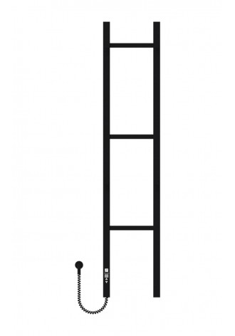 Mono-Dabl 1200х250х3 черный (структура,мат)-RAL-9005 пр..