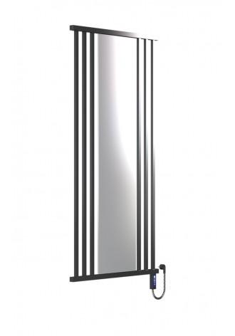 PRESTO 1600Х800Х6 черный (глянец)-RAL-9005 R электро ко..