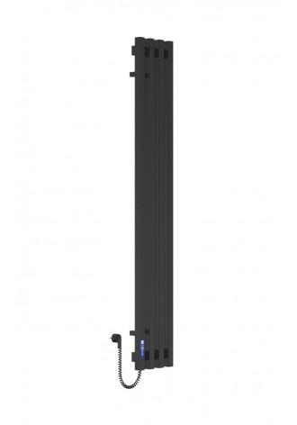 VIVO 1400Х210Х4 черный (глянец)-RAL-9005 программатор L..