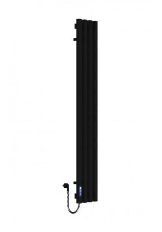 VIVO 1400Х210Х4 черный (структура,мат)-RAL-9005 L элект..