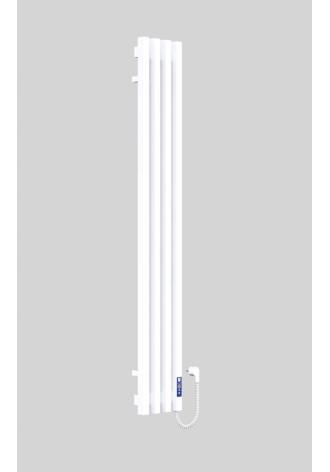 VIVO 1400Х210Х4 белый (глянец)-RAL-9016 R электро контр..