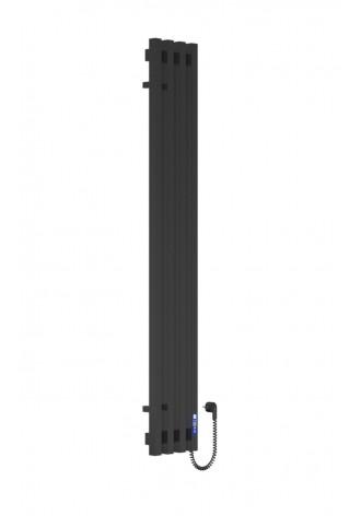 VIVO 1400Х210Х4 черный (глянец)-RAL-9005 R электро конт..