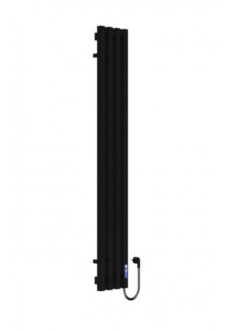 VIVO 1400х210/4 черный (структура,мат)-RAL-9005 R элект..