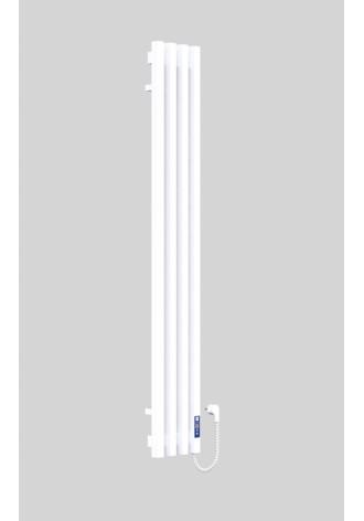 VIVO 1400Х210Х4 белый (структура,мат)-RAL-9003 R электр..