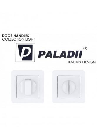 PALADII  поворотник WC квадратный PW белый..