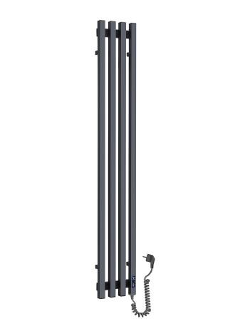 Дизайн-радиатор Vivo 1400*210/4 черный..